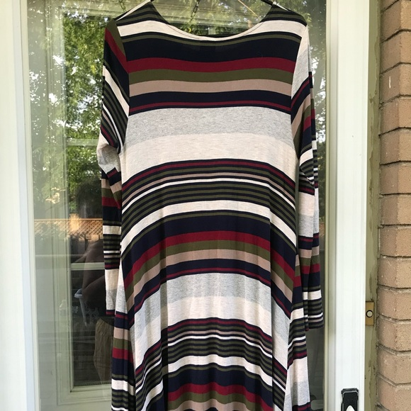 Agnes and Dora Striped Dress